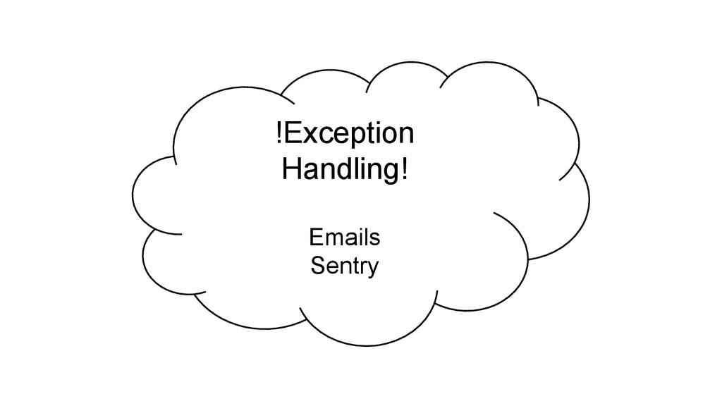 !Exception Handling! Emails Sentry