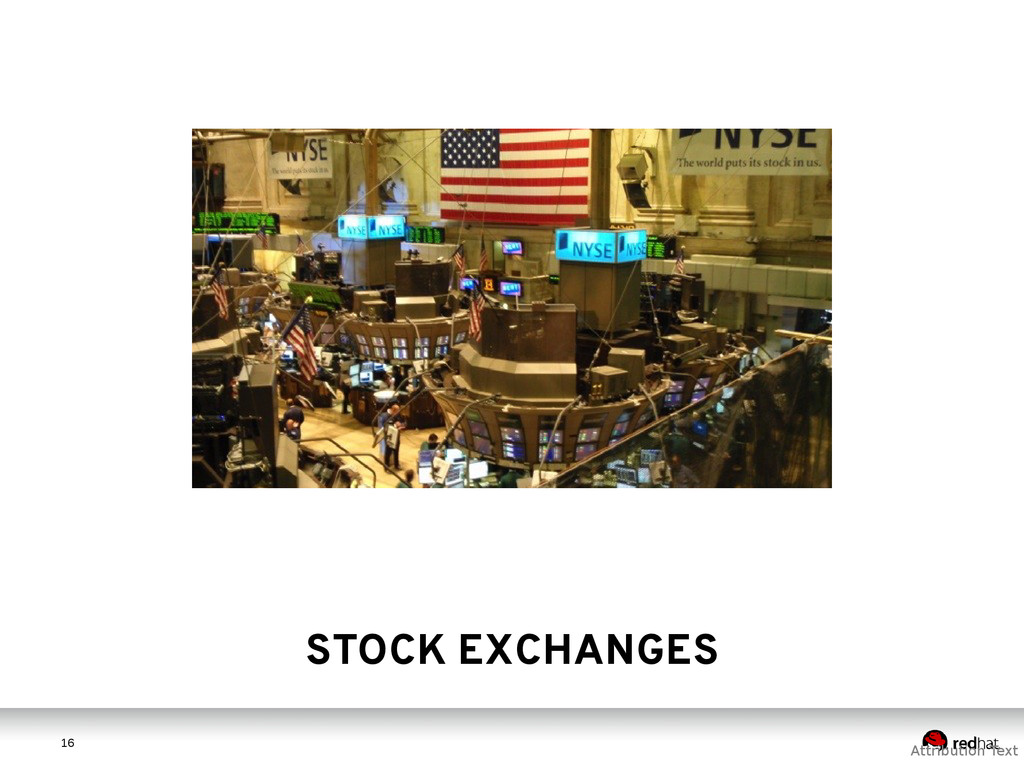 1 6 16 Attribution Text STOCK EXCHANGES
