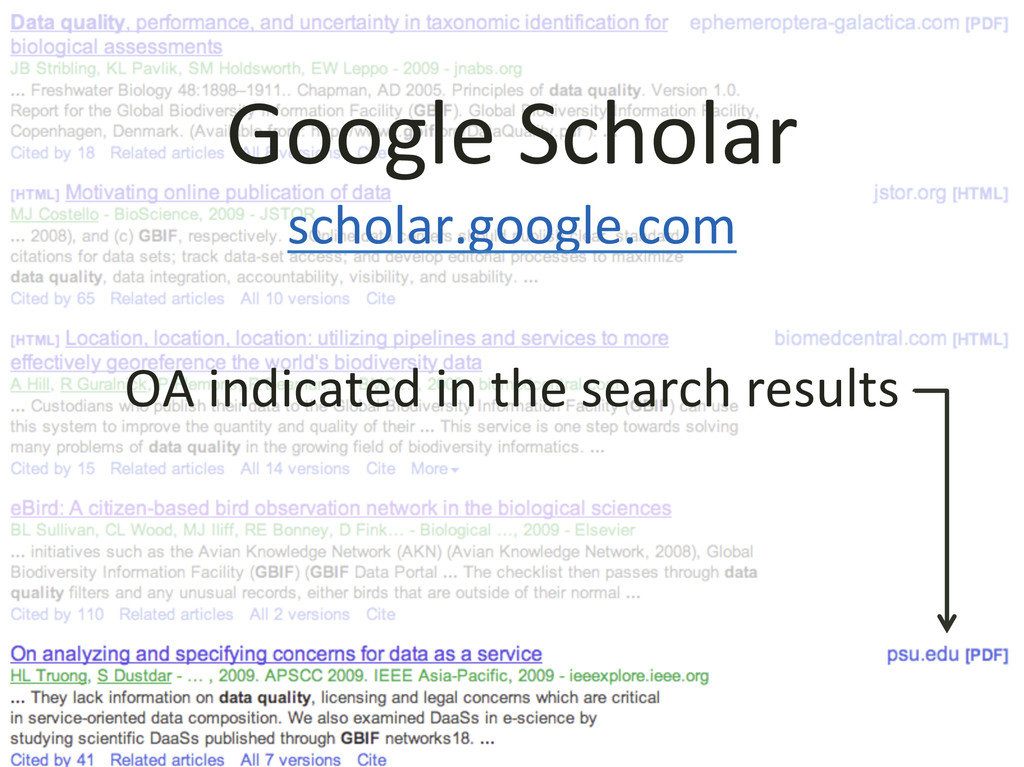 Google Scholar  scholar.google.com  ...