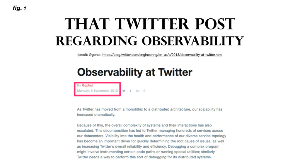 THAT TWITTER POST REGARDING OBSERVABILITY (cred...