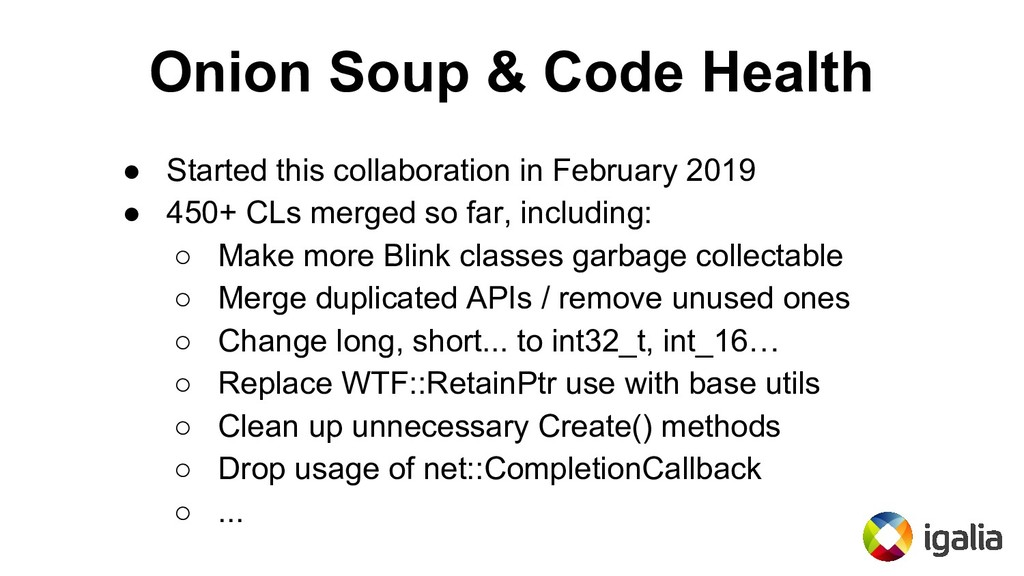 Onion Soup & Code Health ● Started this collabo...