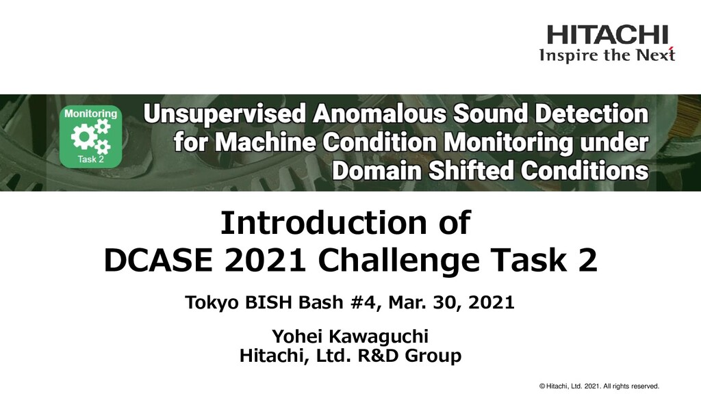 © Hitachi, Ltd. 2021. All rights reserved. Intr...