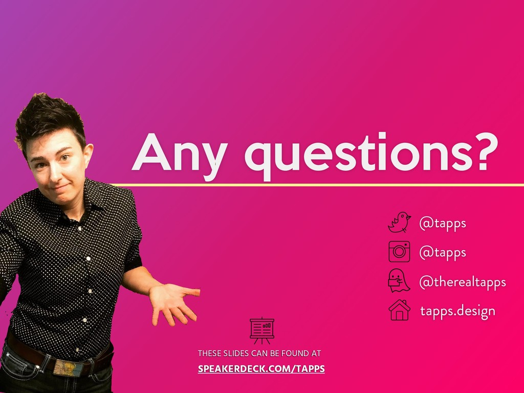 Any questions? THESE SLIDES CAN BE FOUND AT SPE...