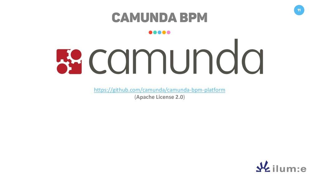 11 CAMUNDA BPM https://github.com/camunda/camun...