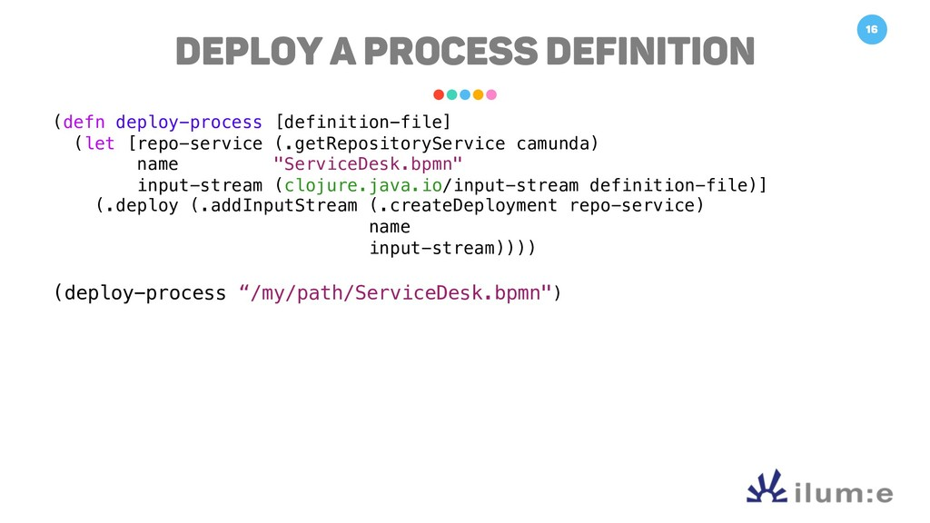 16 Deploy a Process Definition (defn deploy-pro...