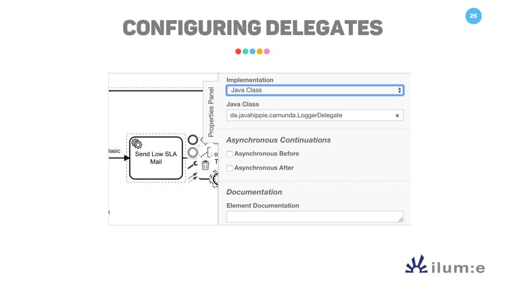25 Configuring Delegates