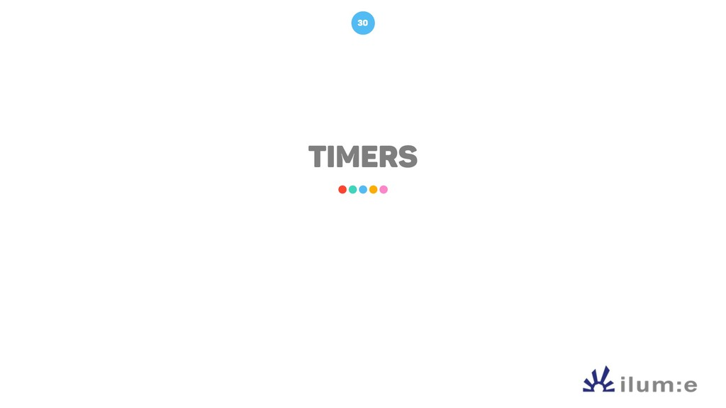 TIMERS 30