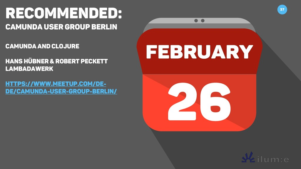 Recommended: Camunda User Group Berlin Camunda ...