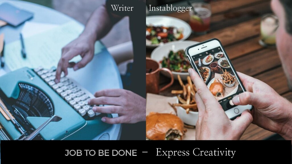 Writer Today Instablogger JOB TO BE DONE – Expr...