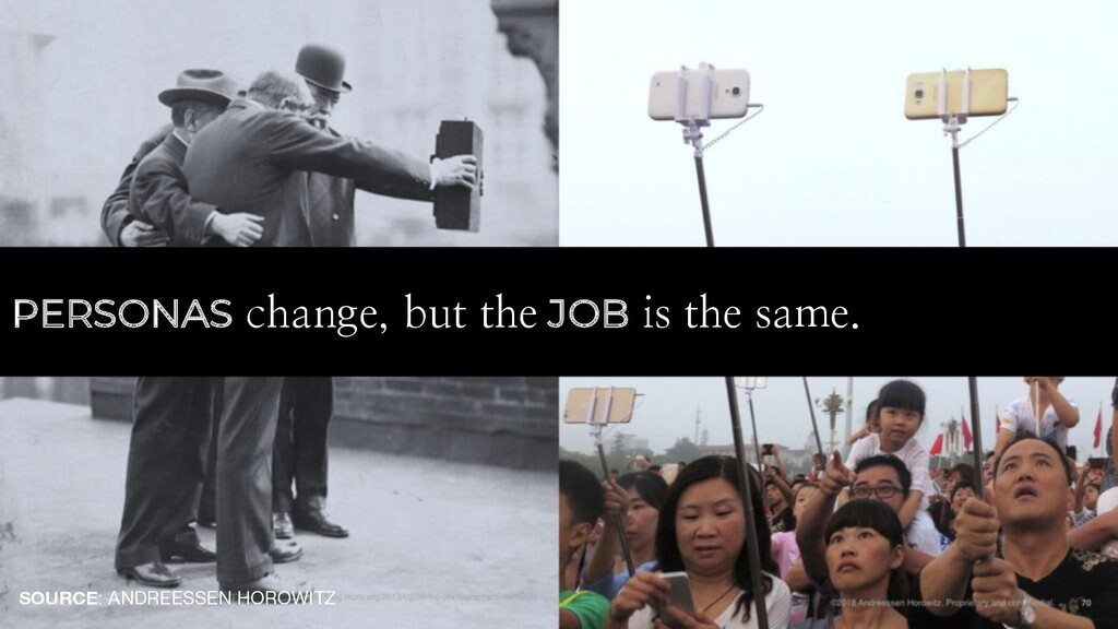 PERSONAS change, but the JOB is the same. SOURC...
