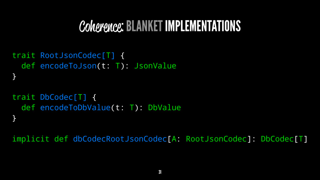 Coherence: BLANKET IMPLEMENTATIONS trait RootJs...