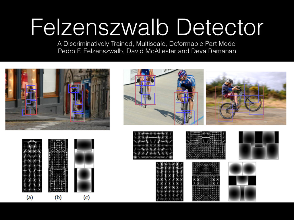Felzenszwalb Detector A Discriminatively Traine...