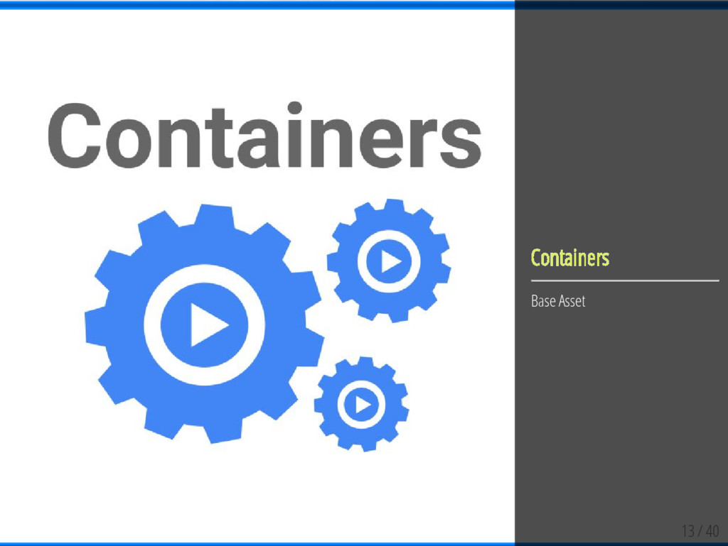 13 / 40 Containers Base Asset