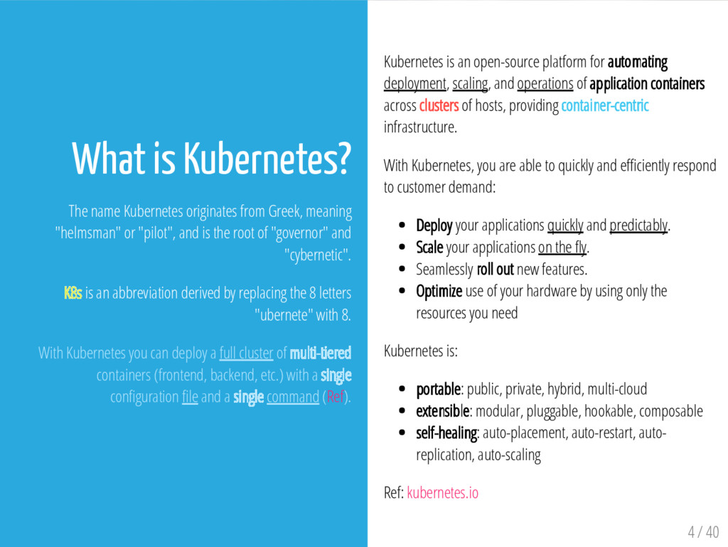 Kubernetes is an open-source platform for autom...