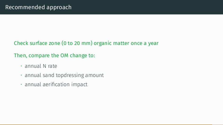 Recommended approach Check surface zone (0 to 2...