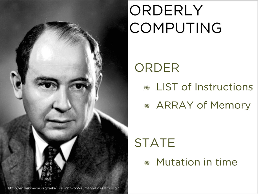 ORDERLY COMPUTING xxxx ORDER ✺ LIST of Instruct...