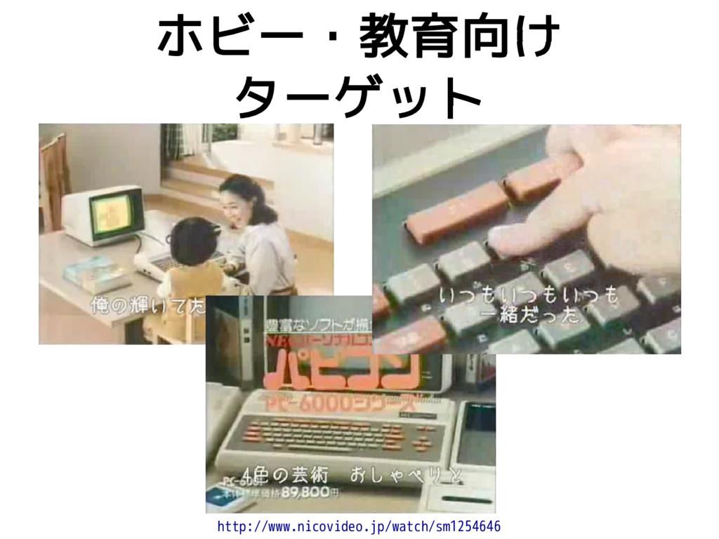 ホビー・教育向け ターゲット http://www.nicovideo.jp/watch/sm...