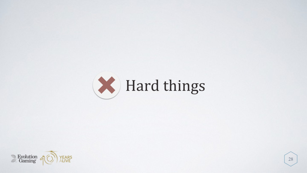 Hard things 28