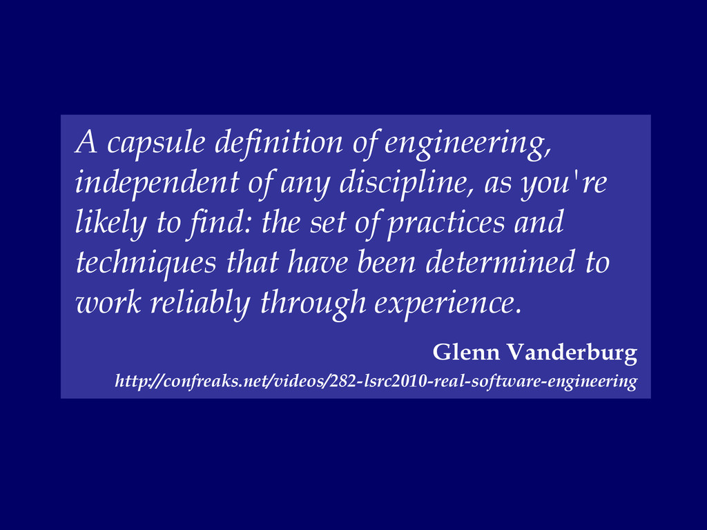 A capsule definition of engineering, independen...