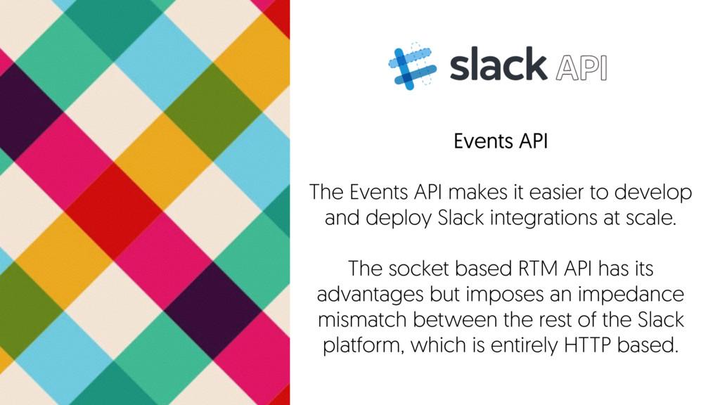 Events API The Events API makes it easier to de...