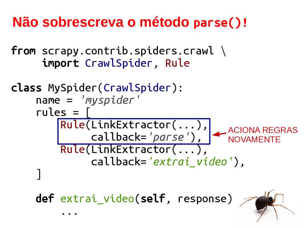 from scrapy.contrib.spiders.crawl \ import Craw...