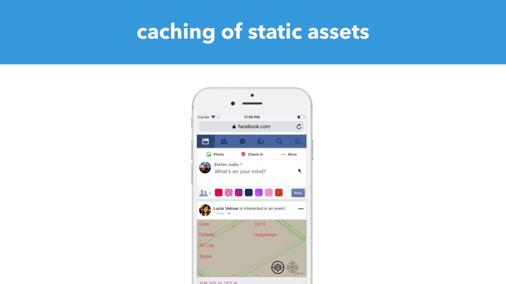 caching of static assets