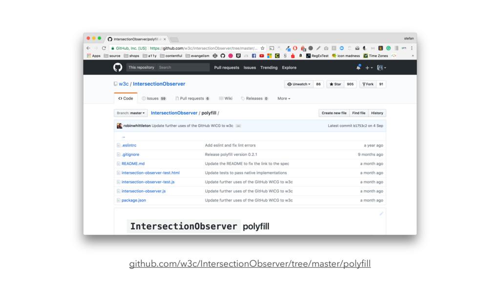 github.com/w3c/IntersectionObserver/tree/master...