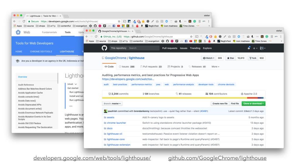 github.com/GoogleChrome/lighthouse developers.g...