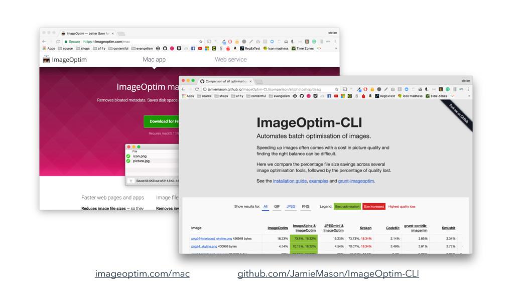 github.com/JamieMason/ImageOptim-CLI imageoptim...