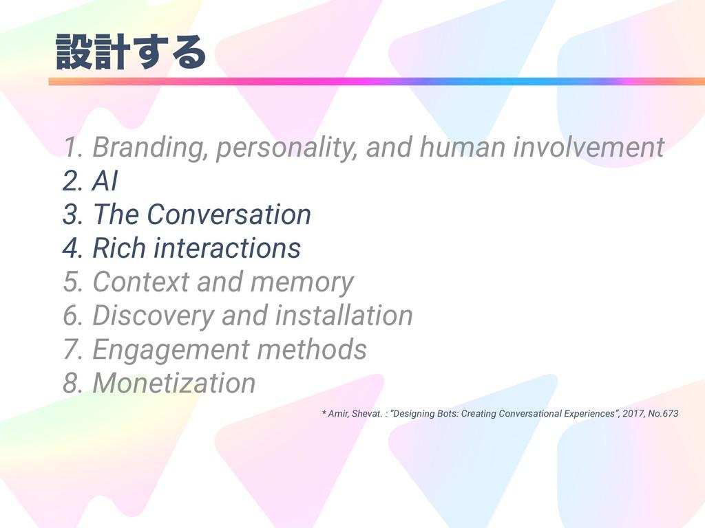 ઃܭ͢Δ 1. Branding, personality, and human involv...