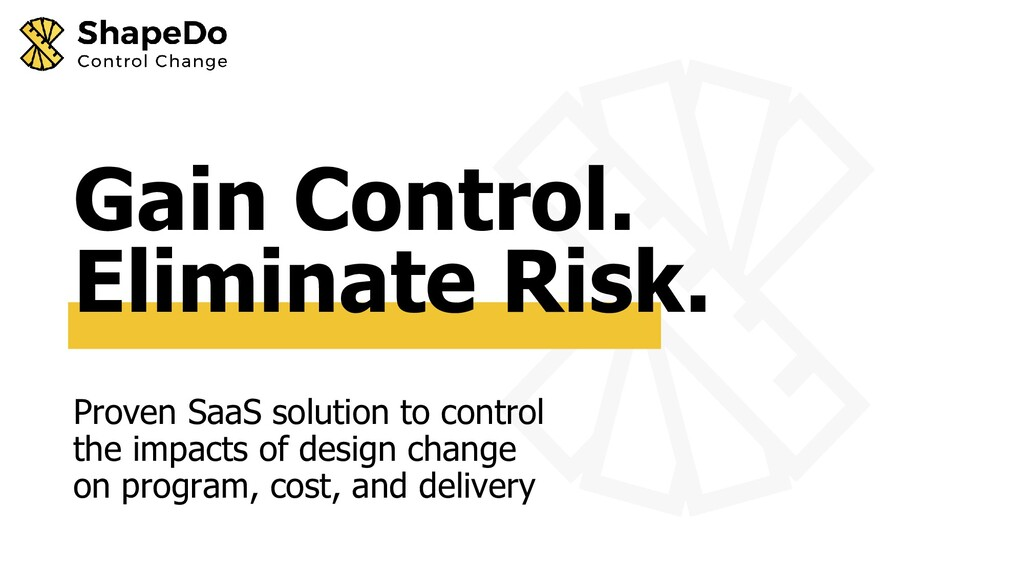 Proven SaaS solution to control the impacts of ...