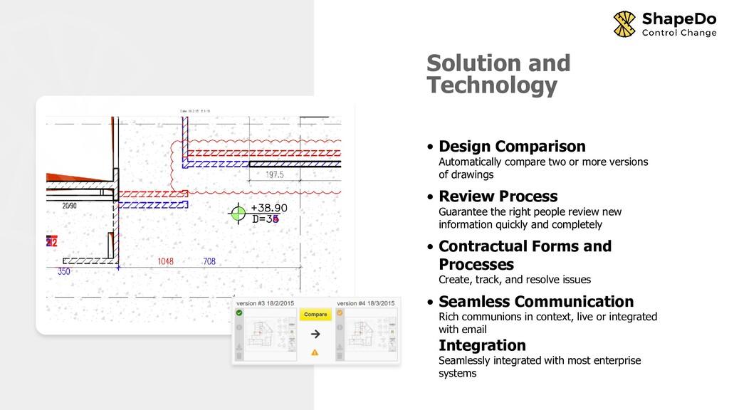 • Design Comparison Automatically compare two o...