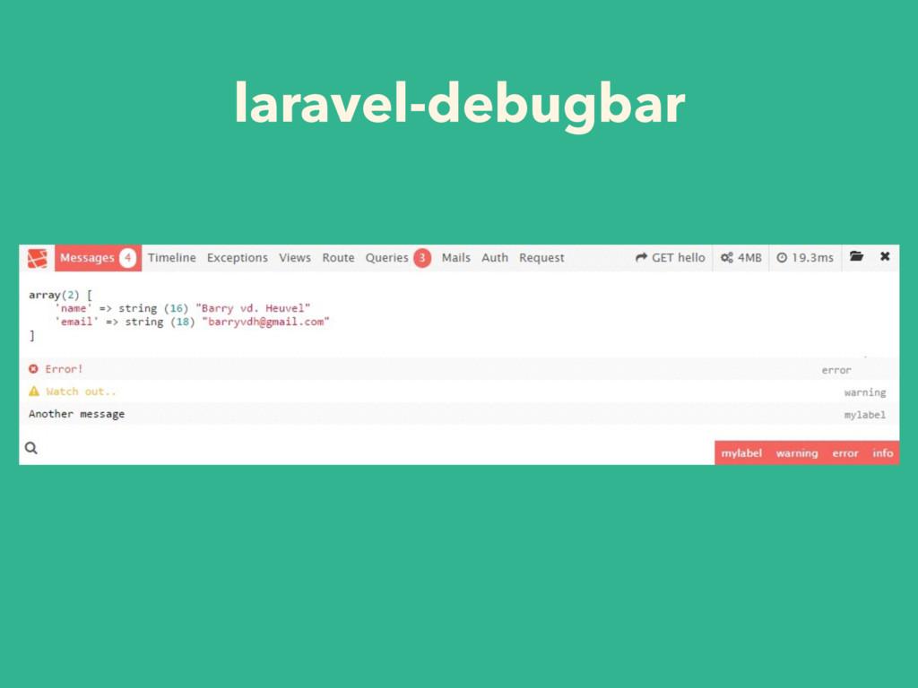 laravel-debugbar
