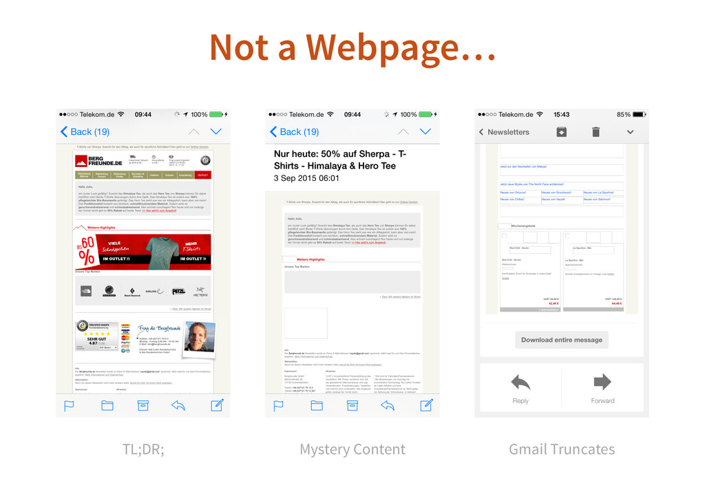 Not a Webpage… TL;DR; Mystery Content Gmail Tru...