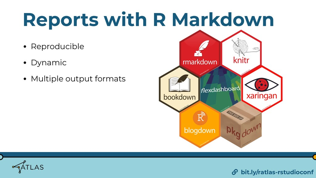 Reports with R Markdown • Reproducible • Dynami...