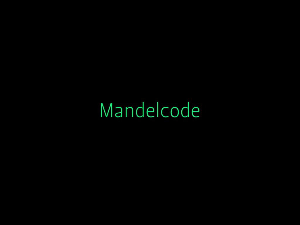 Mandelcode