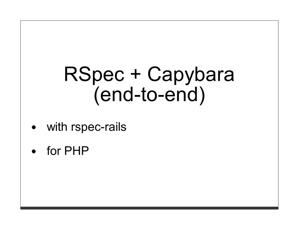 RSpec + Capybara (end-to-end) with rspec-rails ...