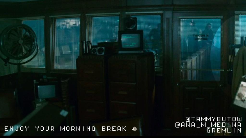 ENJOY YOUR MORNING BREAK ☕ @TAMMYBUTOW @ANA_M_M...