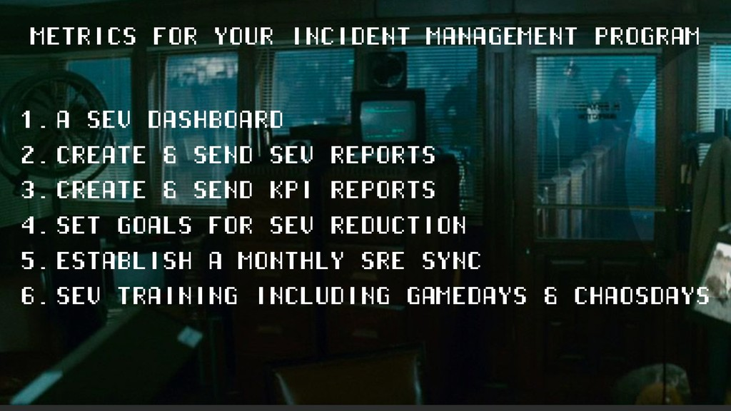 METRICS FOR YOUR INCIDENT MANAGEMENT PROGRAM 1....
