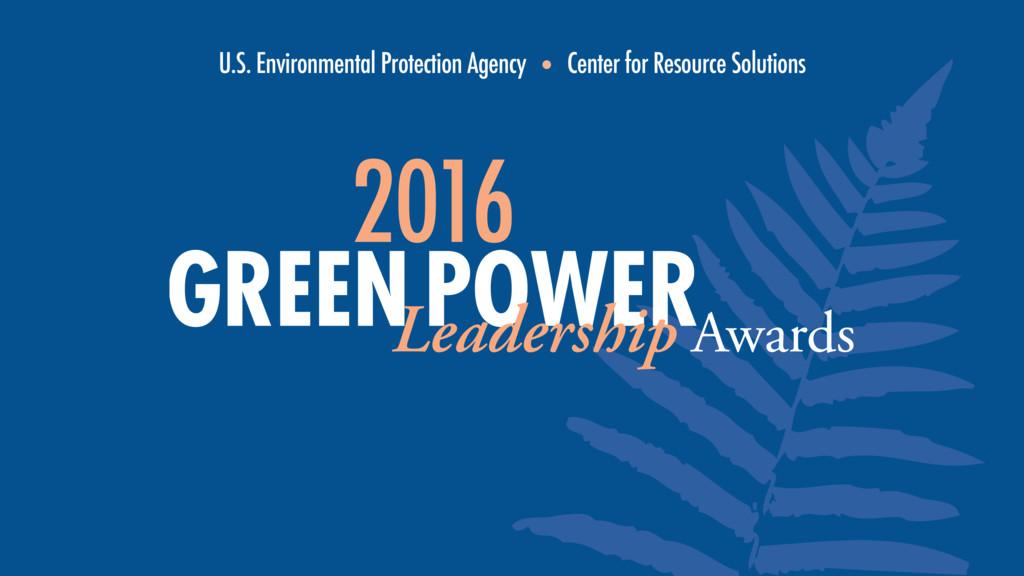 U.S. Environmental Protection Agency • Center f...