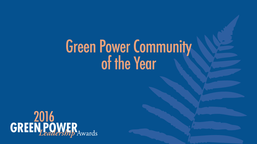 Green Power Community of the Year