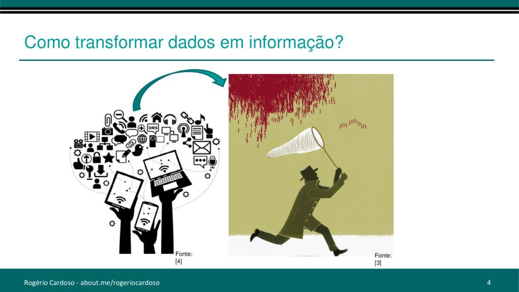 Como transformar dados em informação? Rogério C...
