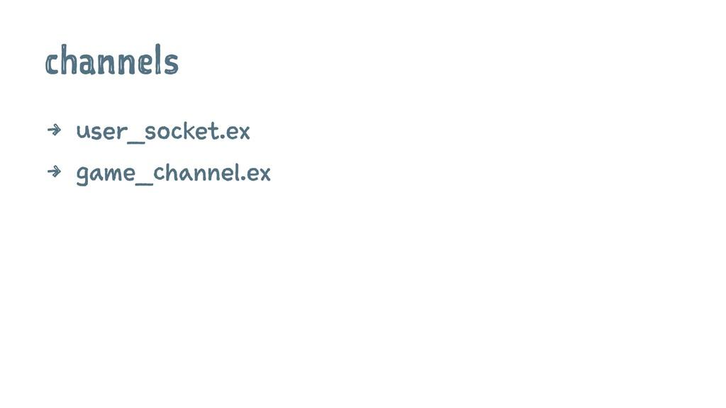 channels 4 user_socket.ex 4 game_channel.ex