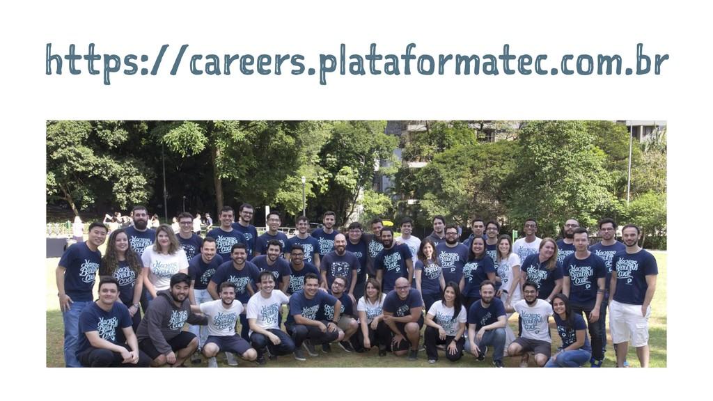 https://careers.plataformatec.com.br