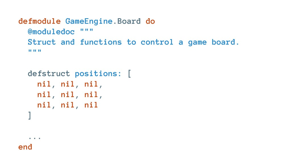 "defmodule GameEngine.Board do @moduledoc """""" St..."