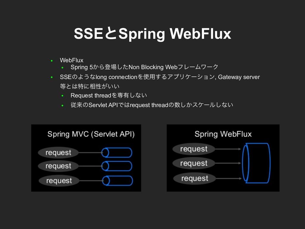 ● WebFlux ● Spring 5͔Βొͨ͠Non Blocking WebϑϨʔϜϫ...