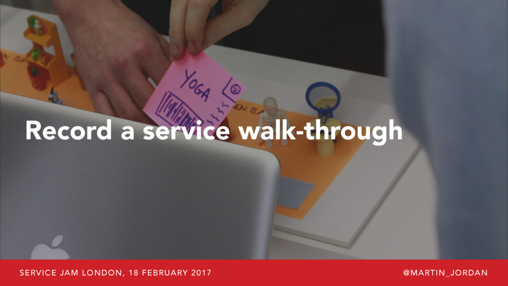 SERVICE JAM LONDON, 18 FEBRUARY 2017 @MARTIN_JO...