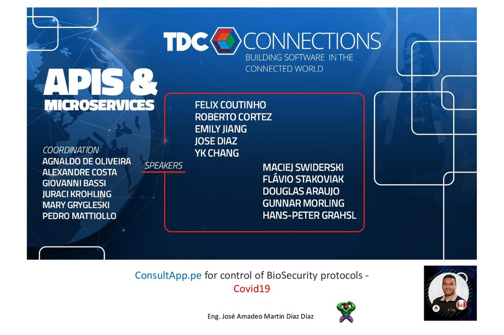 ConsultApp.pe for control of BioSecurity protoc...