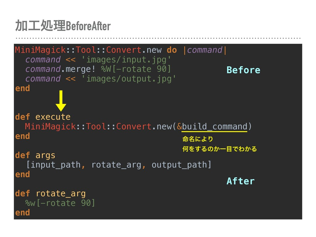 ՃॲཧBeforeAfter MiniMagick::Tool::Convert.new d...