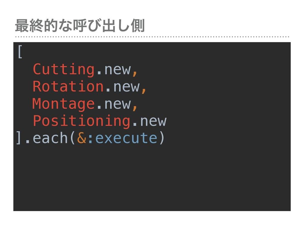࠷ऴతͳݺͼग़͠ଆ [ Cutting.new, Rotation.new, Montage....
